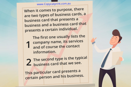 February - Creating Powerful Business Cards in Brisbane Infographic