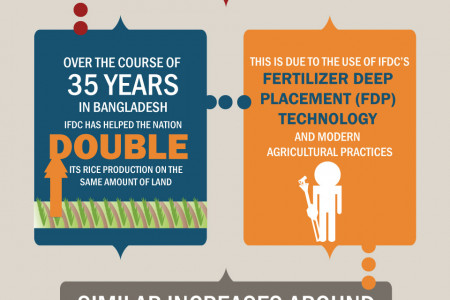 Fertilizer Deep Placement Infographic