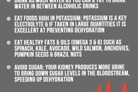 Festivals: Staying Hydrated Infographic