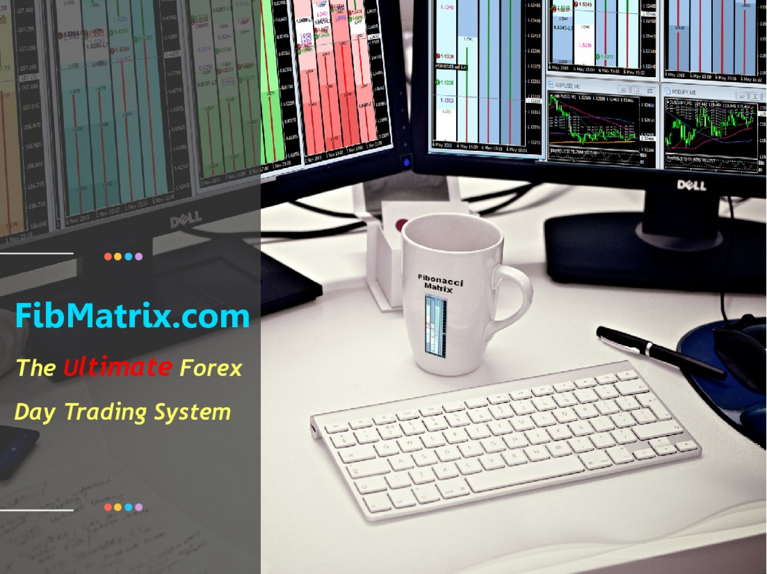 FibMatrix Forex Day Trading Software Infographic