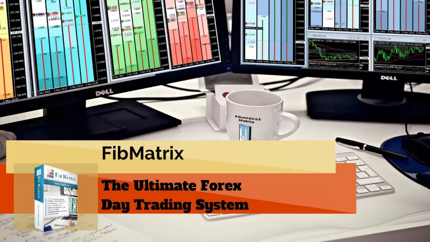 FibMatrix Live Online Forex Trade Room and Forex Day Trading Software Infographic
