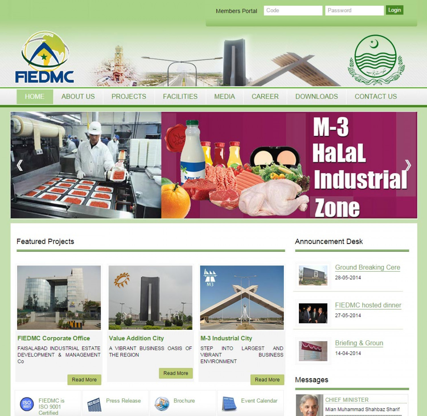FIEDMC Dynamic  PHP website  Infographic
