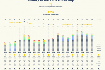 FIFA World Cup 1930-2010 Infographic