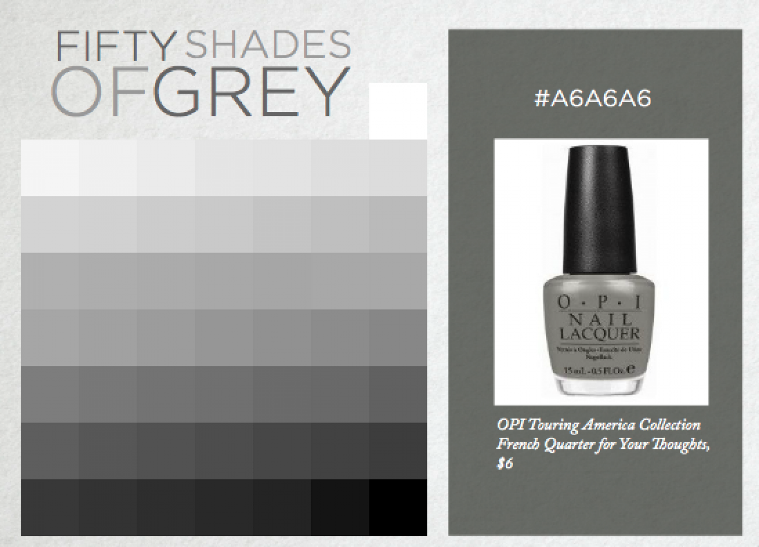 Fifty Shades of Grey Infographic