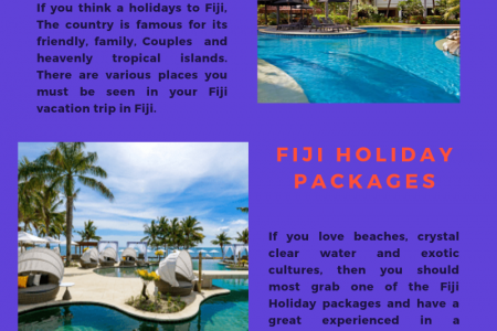 Fiji Vacation Infographic