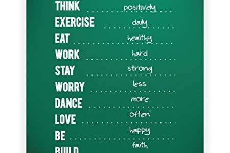 Fill in the Blanks,an Inspirational Quotes Infographic