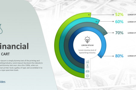 Financial Pie Graphs Templates | Free Download Infographic