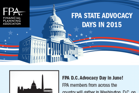 Financial Planning Association D.C. Advocacy Day in June Infographic