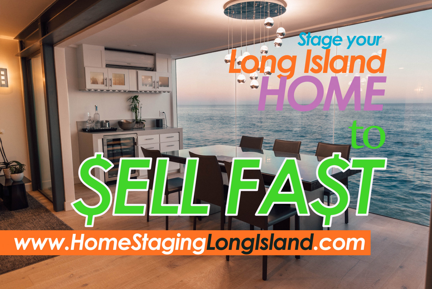 Find a Home Staging and Interior Design Professional in Long Island, NY Infographic