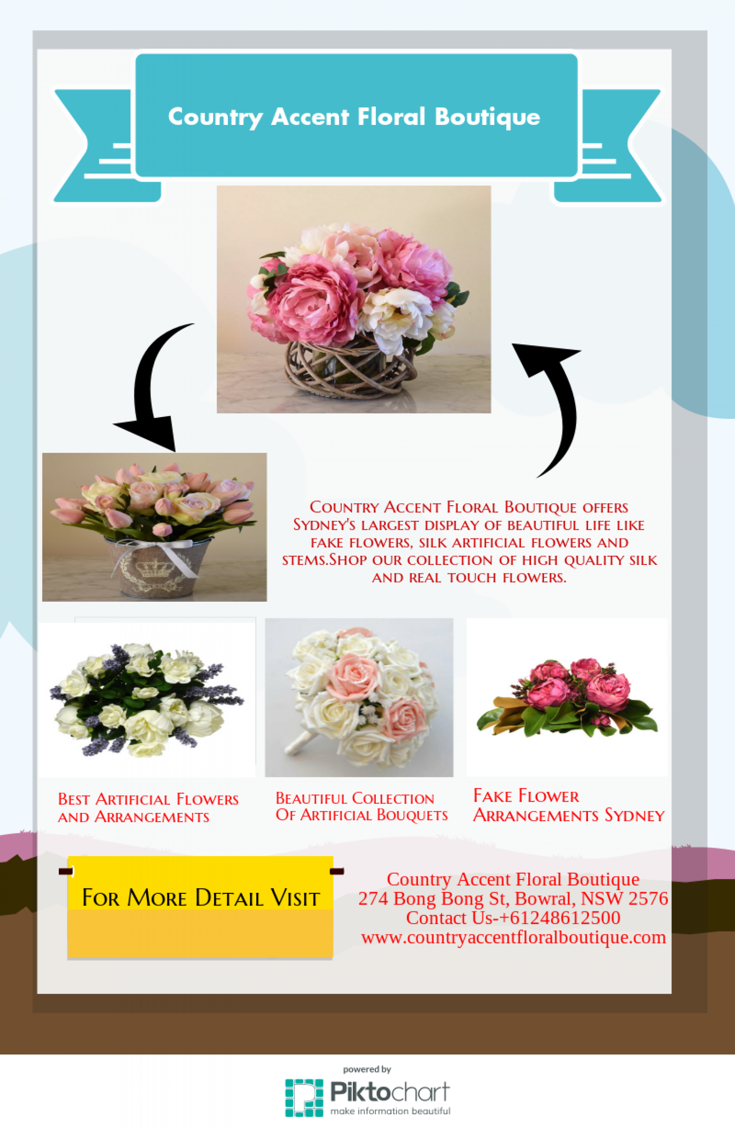 Find Best Artificial Flowers And Arrangements In Sydney Visual