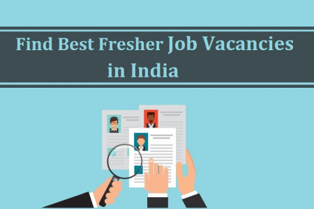 Find Best Fresher Job Vacancies in India Infographic