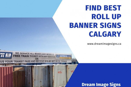 Find best Roll Up Banner Signs Calgary Infographic