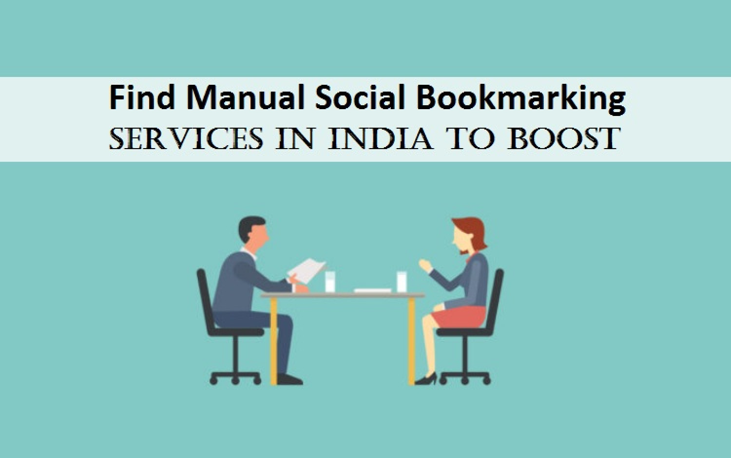 Find Manual Social Bookmarking Services in India to Boost Infographic