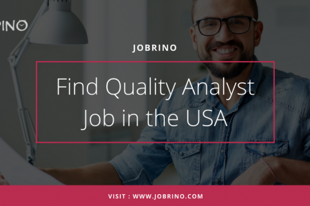 Find online job opportunities in quality analyst that boost your career in the USA. Infographic