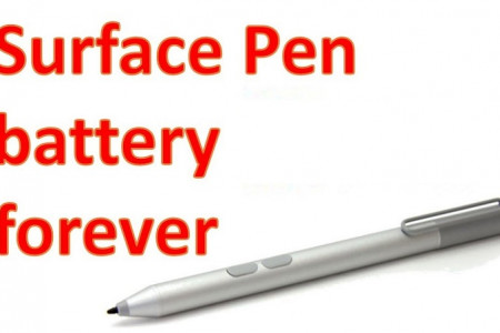 Find Out How to Remove and Replace the Battery of Surface Pen Infographic