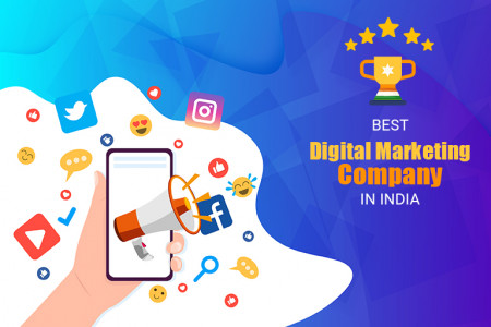 Find the Best Digital Marketing Company in India | SEO Services in India Infographic