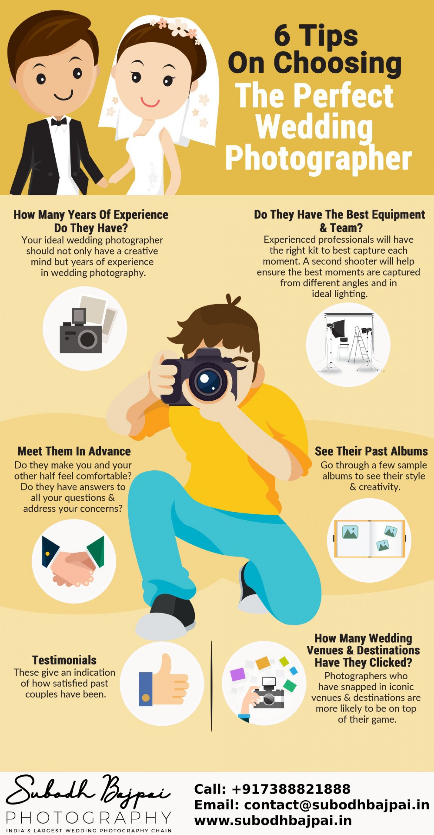 Find The Best Wedding Photographer In India Infographic Infographic