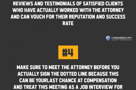 Find the Best Workers Comp Attorney Infographic