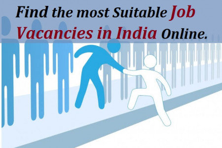 Find the most Suitable job Vacancies in India Online. Infographic