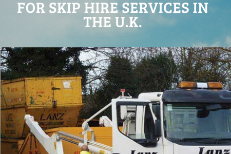 Find The Skip Hire Companies in the UK Infographic