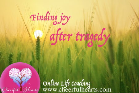 Finding joy after tragedy Infographic