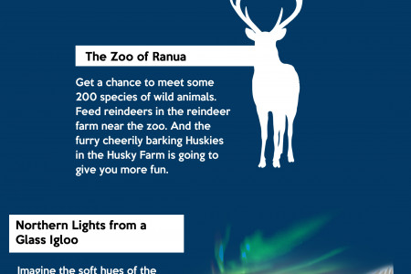 Finland Luxury Tours - The Land of a Thousand Lakes Infographic