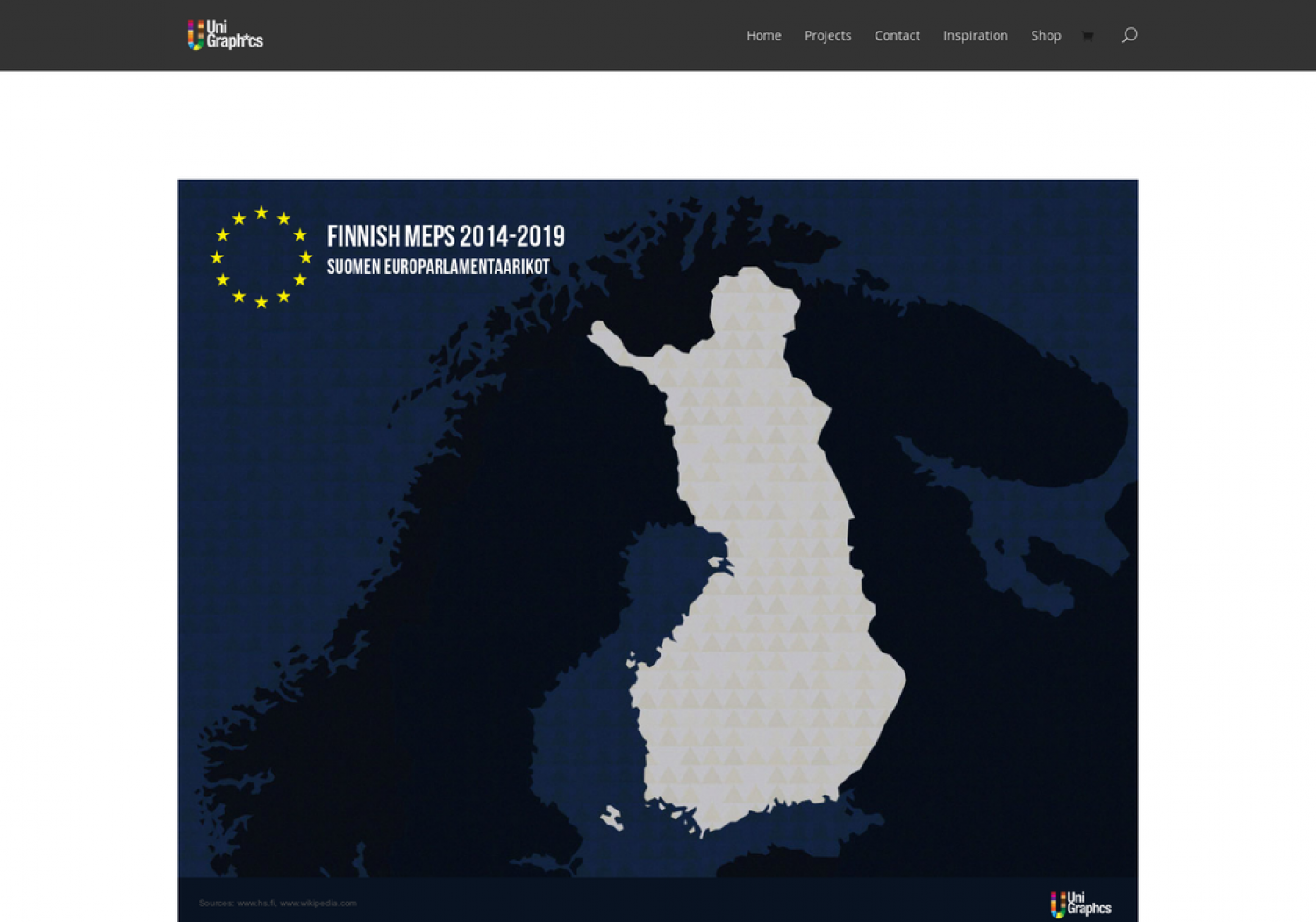 Finnish Members in European Parliament Infographic