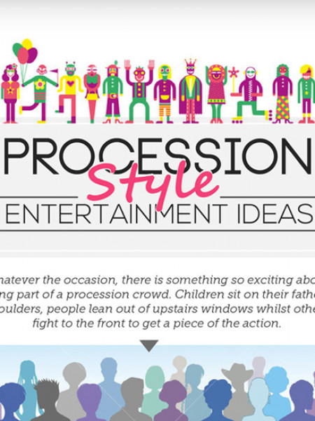 Procession Entertainment Ideas Infographic