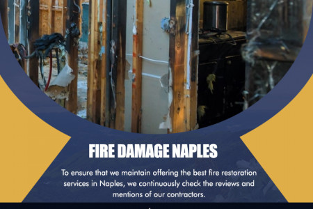 Fire Damage Naples Infographic