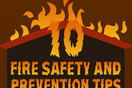 Fire Safety and Prevention Tips from Licaland Infographic