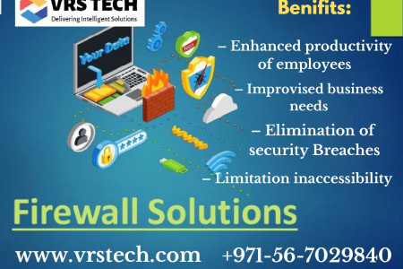 Firewall Solutions For Small Business -VRS Technologies Infographic