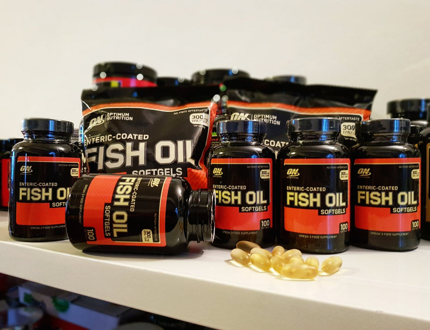 Fish Oil - Optimum Nutrition  Infographic