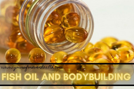 Fish Oil Bodybuilding For Muscle Growth Infographic
