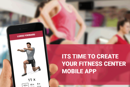 Fitness Trainer App Development Company USA Infographic