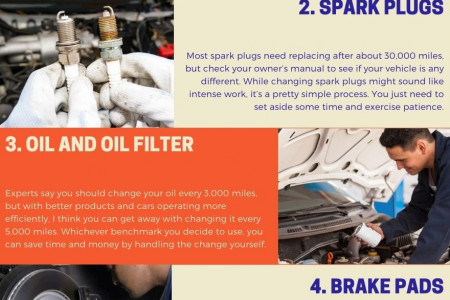 Five DIY Car Maintenance Tips You Can Handle Infographic