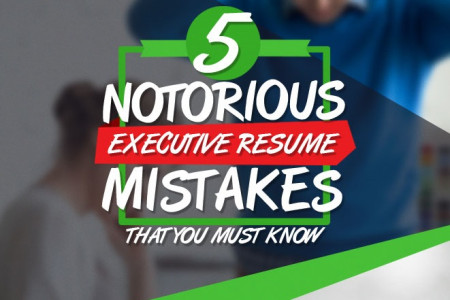 Five Notorious Executive Resume Mistakes That You Must Know Infographic