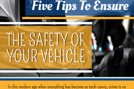 Five Tips to Ensure the Safety of your Vehicle Infographic