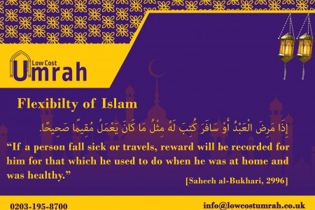 Flexibility Of Islam Infographic