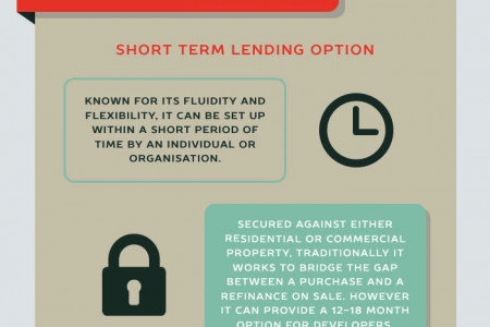Flexible Lending Options for Property Developers Infographic