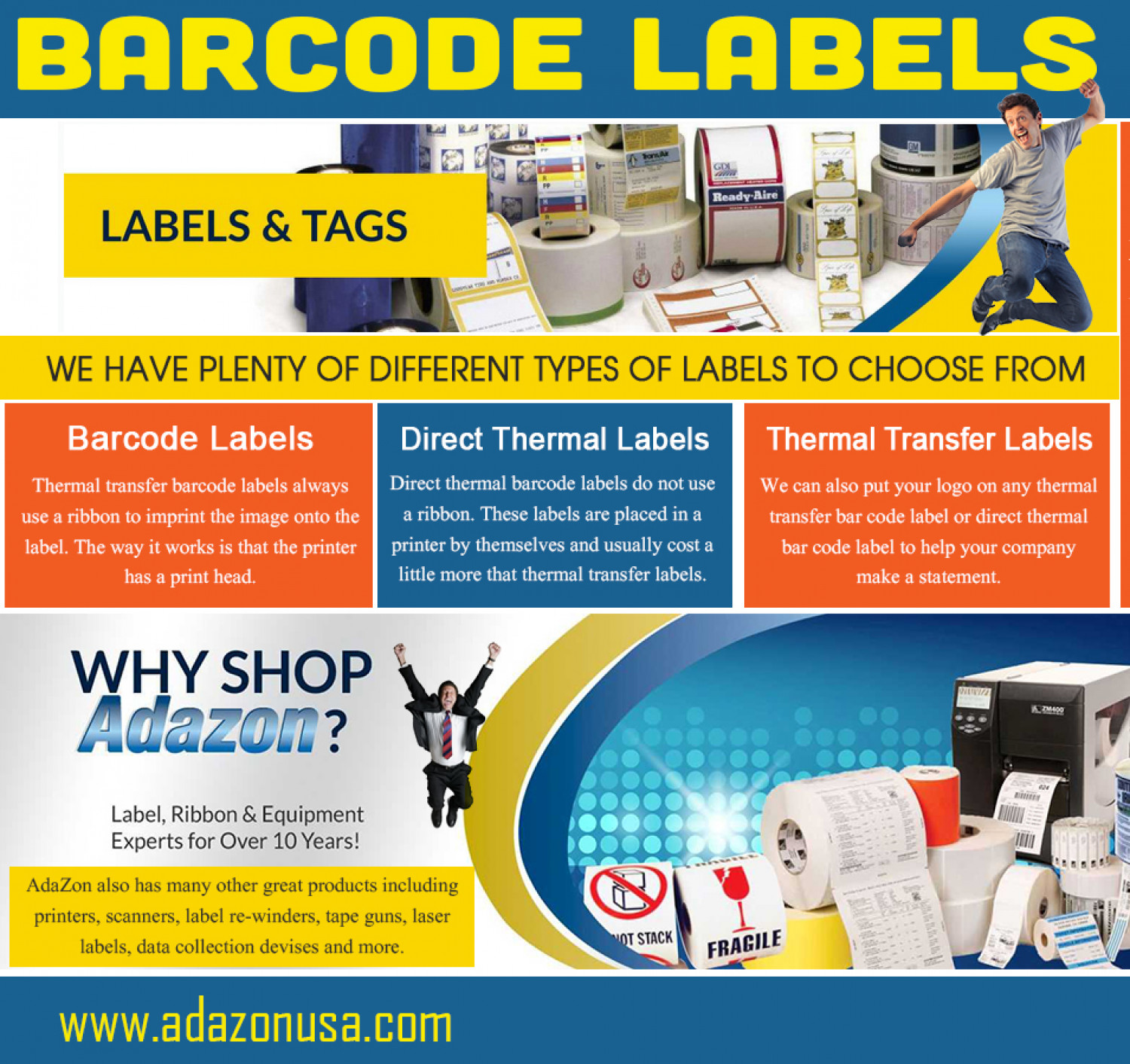 Flexible Packaging Ribbon Infographic