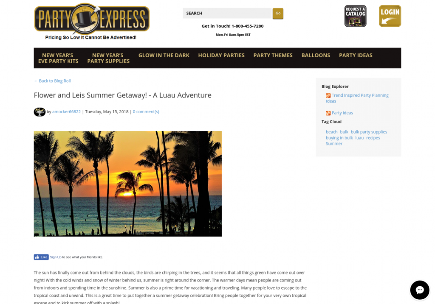 Flower and Leis Summer Getaway! - A Luau Adventure Infographic