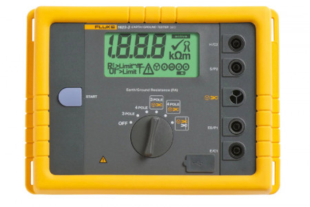 Fluke 1623-2 GEO Earth Ground Resistance Meter Infographic