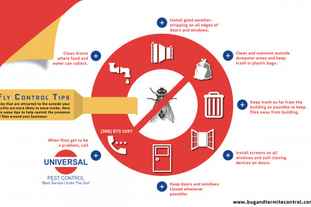 Fly Control Tips Infographic