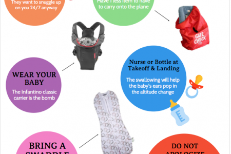 FLYING WITH AN INFANT Infographic