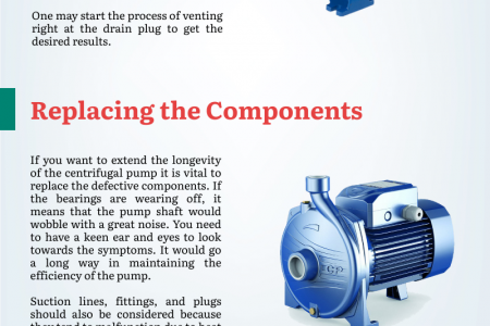 Follow Guidelines of Maintenance and Usage of Centrifugal Pump Infographic