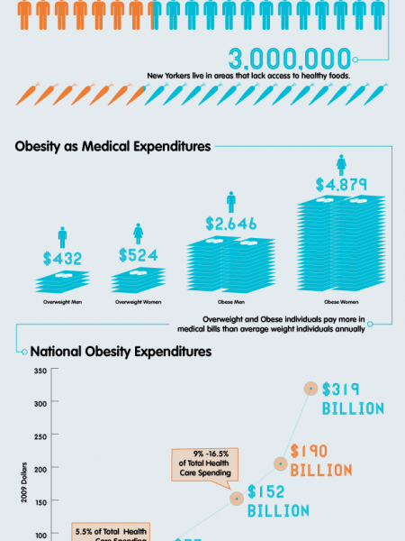 Food and Health Infographic