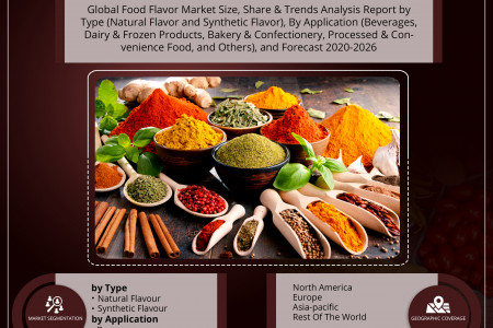 Food Flavor Market Size, Share, Trends, Analysis and Forecast 2020-2026 Infographic