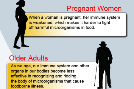 Food Poisoning, Who's at Risk Infographic