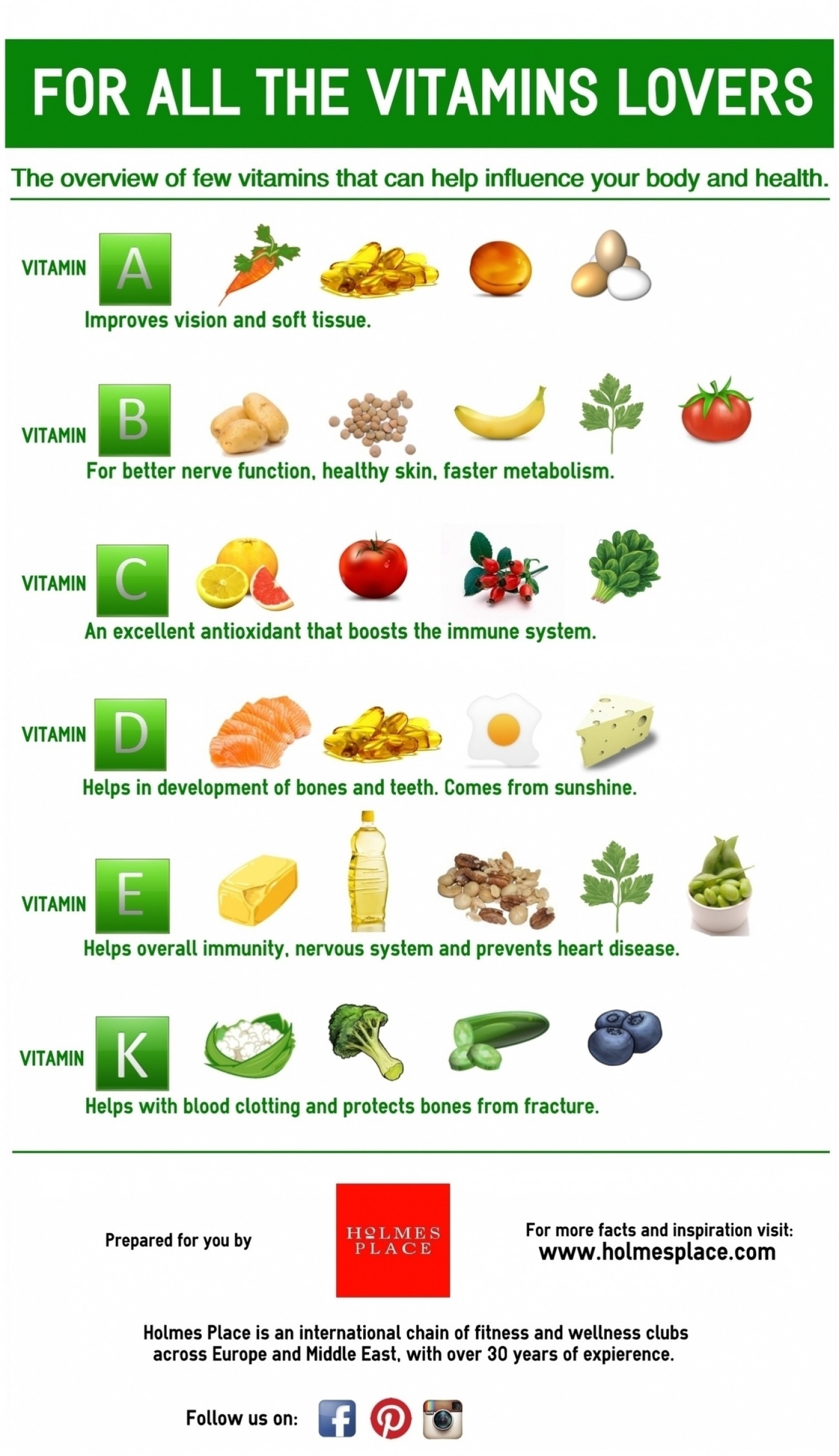 For all the Vitamin lovers! Infographic
