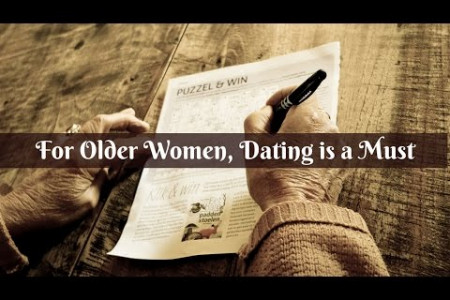 For Older Women, Dating is a Must  Infographic